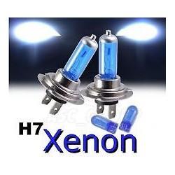 2 BOMBILLAS H7 EXTRA BLANCAS XENON