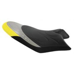 FUNDA ASIENTO BOMBARDIER RXP-RXPX negro-amarillo-plata