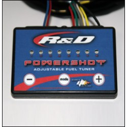 R & D KAW. 12F / 15F POWERSHOT ADJUSTABLE FUEL TUNER
